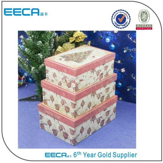 Rectangular gift box Christmas Tree Storage Gift Box Design/Alibaba Box Gift Box Wholesale