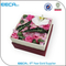 2017 luxury fancy square handmade gift packaging round flower hat box in EECA China