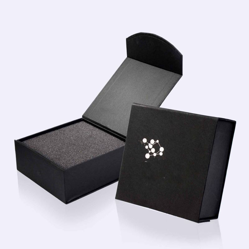 2017 Jewelry Paper Gift Box/mini foldable jewel box/Folding jewelry box/ring box Supplier EECA Packaging From China