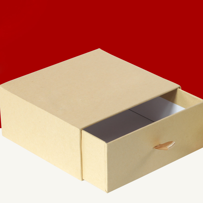 Kraf paper box/Paper drawer gift box/drawer box with bag/packing for daily commodities in EECA