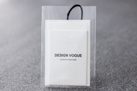 New design hangtag with plastic bag/label design/Original tag/hangtag label in EECA