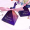 2018 Fashion star series box/Chocolate box/candy box with ribbon in EECA China