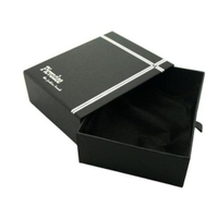 Black Paper drawer gift box made in Dongguan