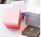 2017 square gift box handmade storage cardboard paper box for toy gift packaging box