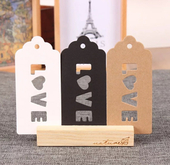 New design china clothing hang tag designs/jeans hang tag with string