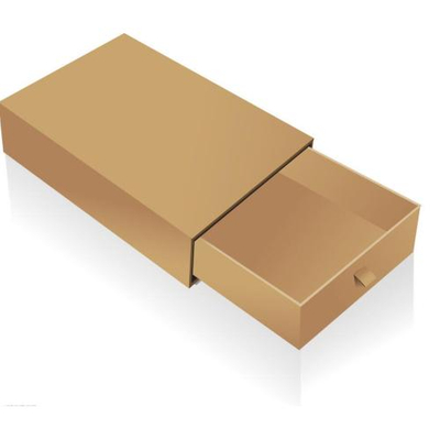 2016 Hot sale customized kraft paper drawer gift box