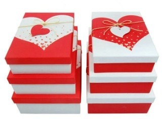 2017 rectangular gift box handmade flat pack cosmetic gift card box made in china