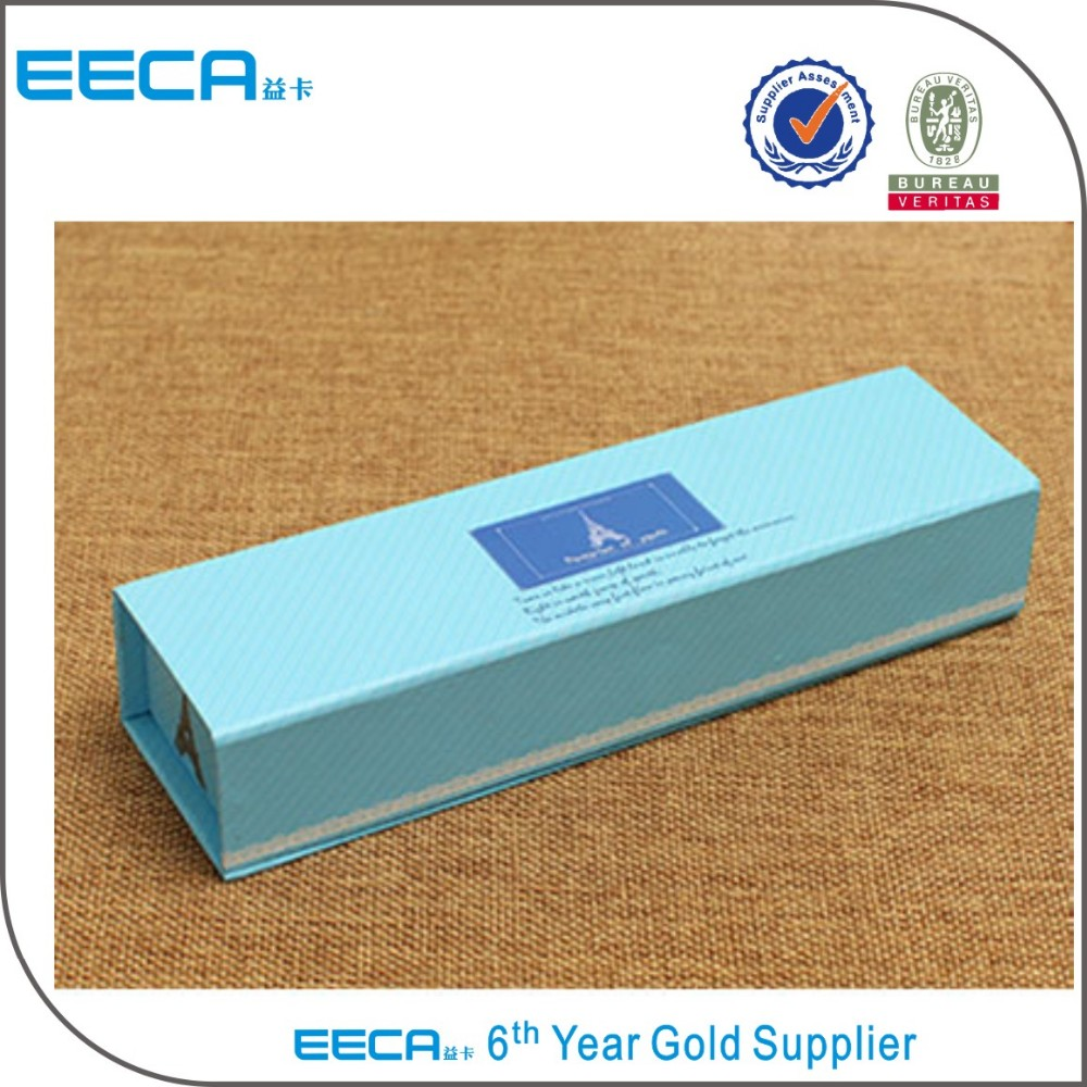 Magnetic Pencil Paper Box Gift Paper Box with Magnet Closure/Folding Cardboard Box/Pencil box