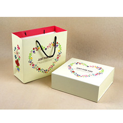 2017 Customized foldable gift boxes/packaging gift box gift bag/handbag made in China
