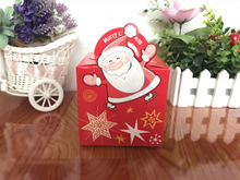 Creative personality Christmas box/Christmas Eve Apple Box/foldable box in EECA