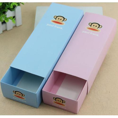 Custom Printed paper Box/Stationery drawer box/drawer gift box/paper card box/monkey box in EECA Packaging