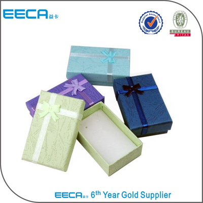 Christmas jewelry gift box set manufacturing/Rectangular gift box/sponges for jewelry box in EECA Chinese