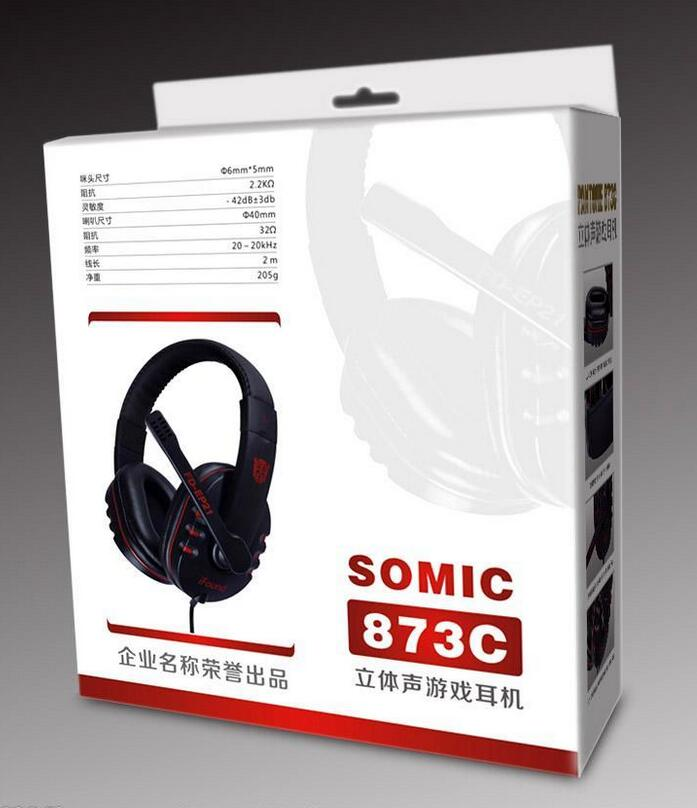 Dongguan Supplier Accept Customized Paper Box/Headphones box