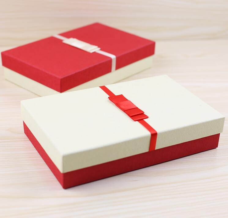 2016 New Design Customized Packaging Paper Box/Rectangular gift box