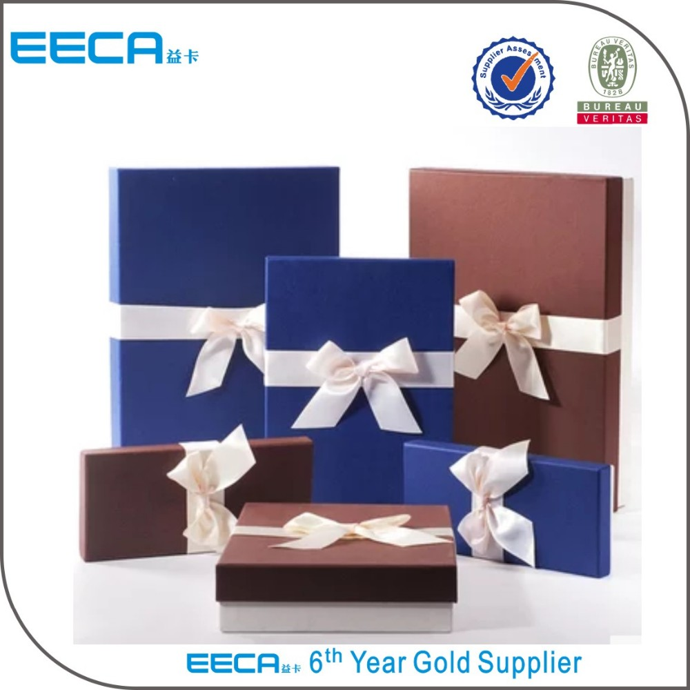 Jewelry boxes luxury garment gift packaging box with lid/handmade boxes manufacturers