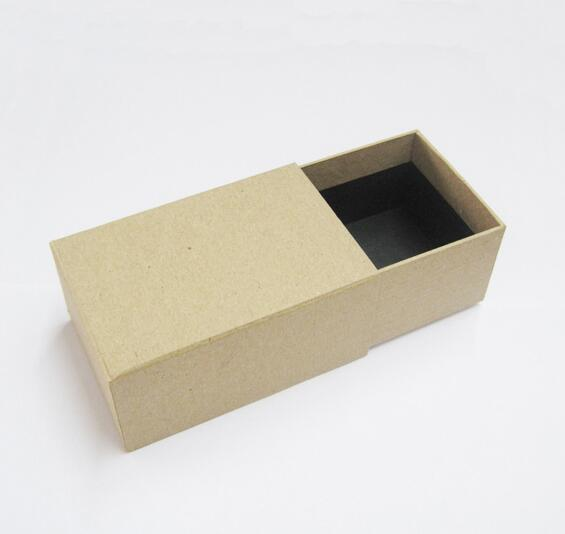 Kraft paper drawer gift box made in Dongguan