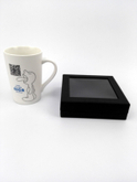 Square pvc box Custom baby shoe cardboad box/matt black window paper box made in EECA China