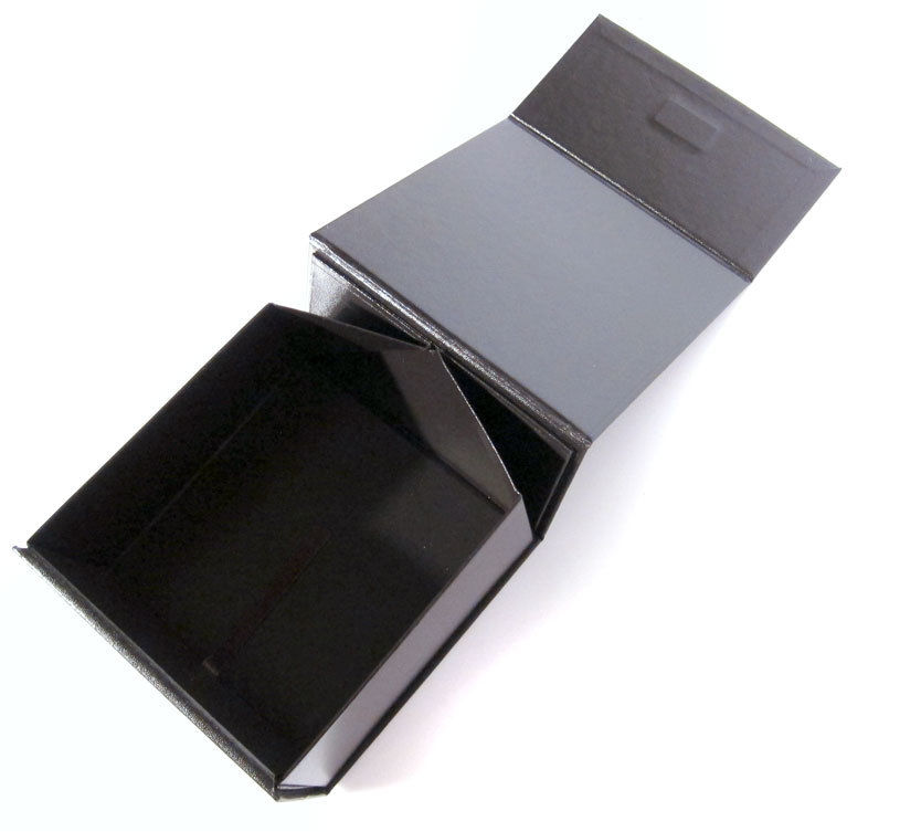 Luxury paper cardboard foldable packaging box Square gift box