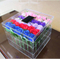 Fashion box Cheap waterproof square clear acrylic packaging box for flowers in EECA