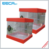 Newest PVC Plastic Box/Square gift box Wholesale/candle box/PVC plastic box/window box in EECA