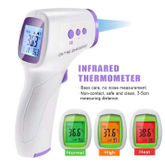High quality non contact digital LCD display infrared Forehead thermometer for people
