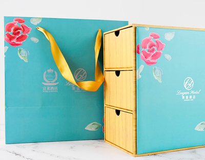 Custom Personalized Hot Selling Fashion Three Drawer Gift Box